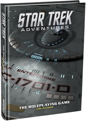 Star Trek Adventures Rpg: Core Rulebook Collector`s Edition Box Front