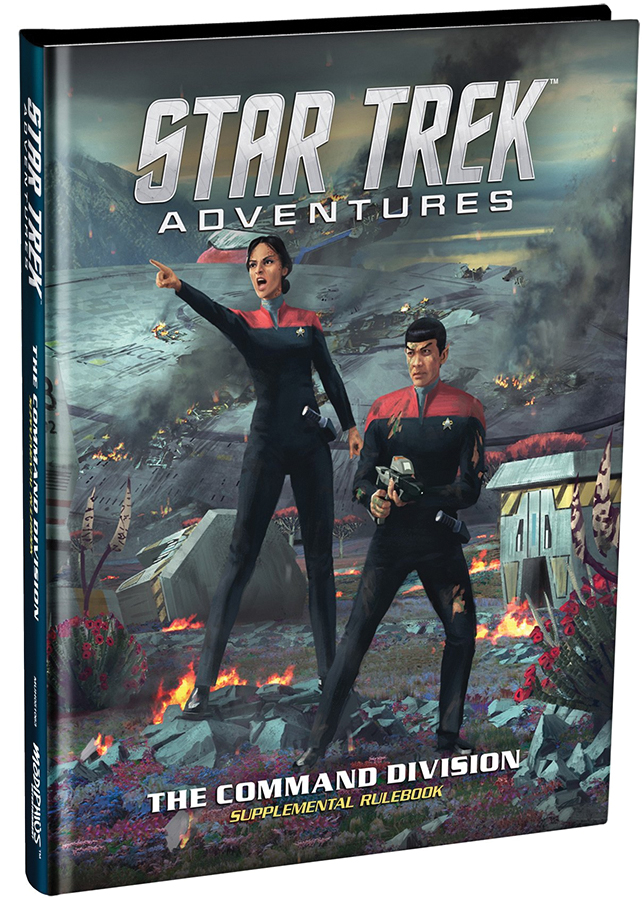 Star Trek Adventures: Command Division Box Front