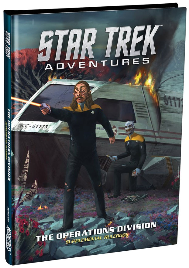 Star Trek Adventures: The Operations Division Game Box