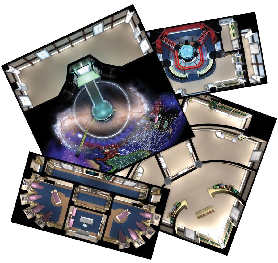 Star Trek Adventures Rpg: Next Generation Starfleet Deck Tiles Box Front