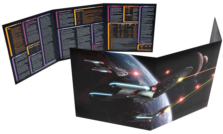 Star Trek Adventures Rpg: Gm Screen Box Front