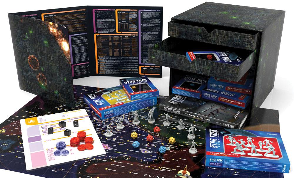 Star Trek Adventures Rpg: Borg Cube Collector`s Edition Box Box Front