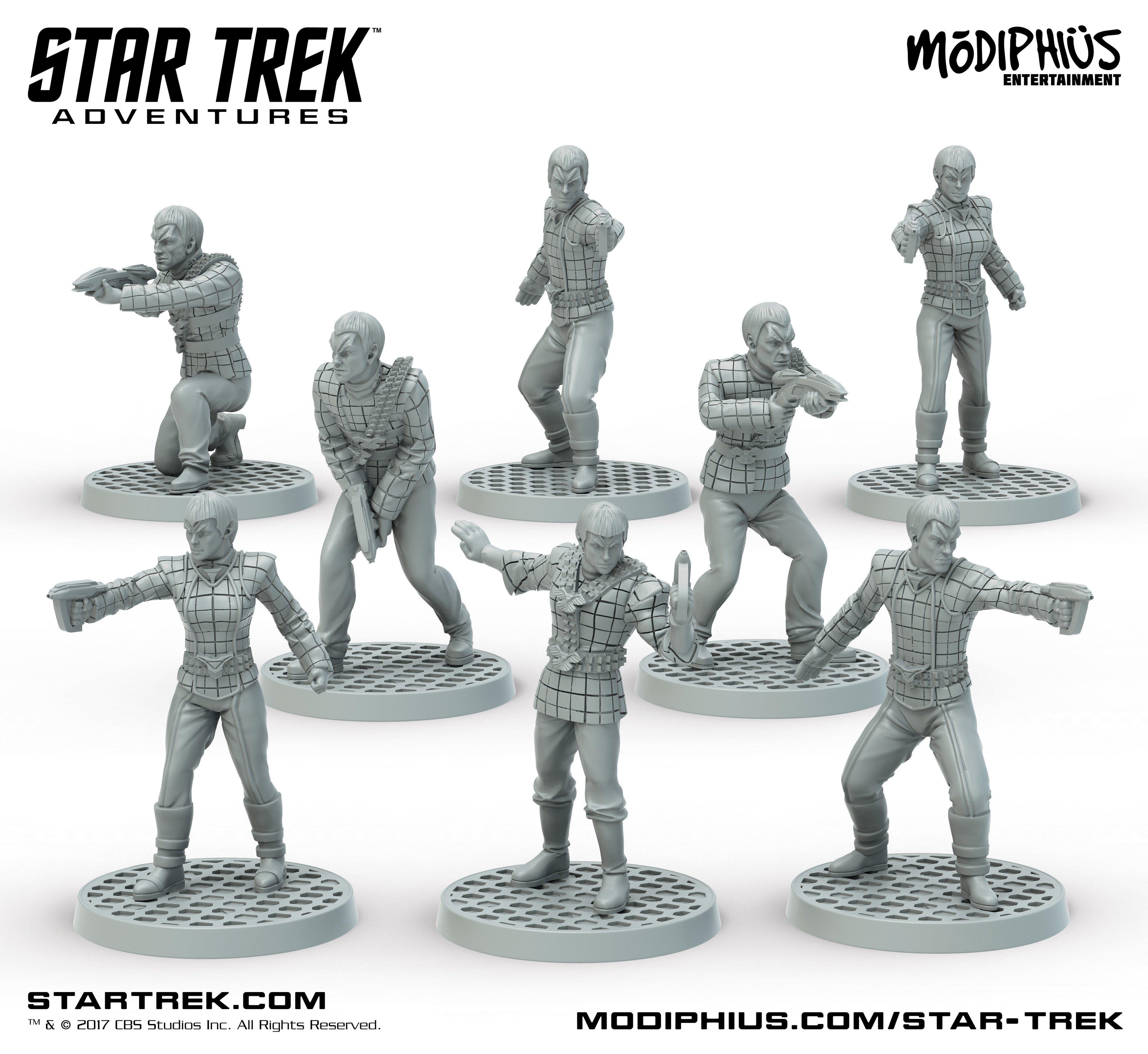 Star Trek Adventures Rpg: Romulan Strike Team Box Set Box Front