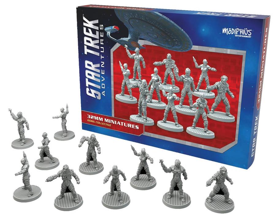 Star Trek Adventures: Borg Collective Miniature Set Box Front