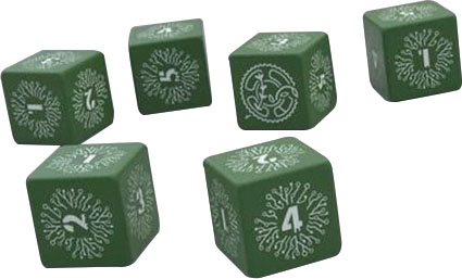 Legacy: Life Among The Ruins - Dice Set Game Box