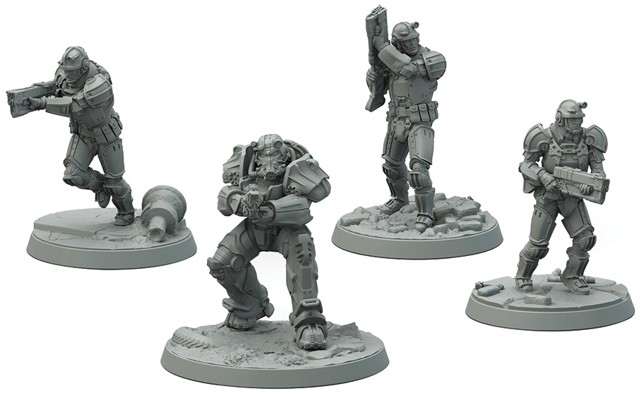Fallout: Wasteland Warfare - Brotherhood Of Steel Frontline Knights Box Front