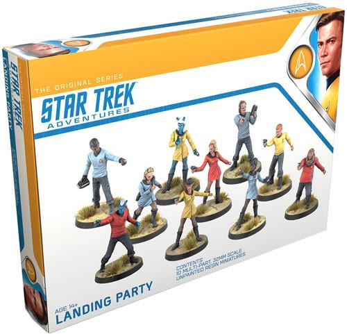 Star Trek Adventures Rpg: Original Series Landing Party Game Box