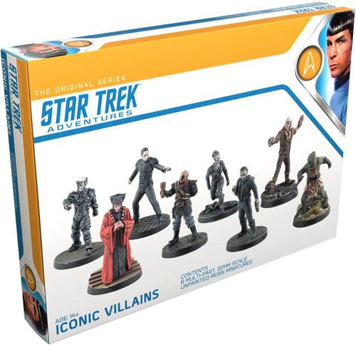 Star Trek Adventures Rpg: Iconic Villains Game Box