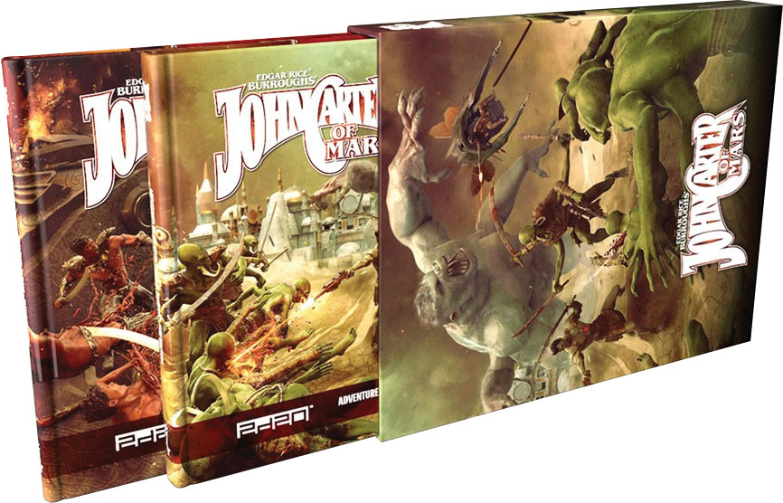 John Carter Of Mars: Collectors Slipcase Set Game Box