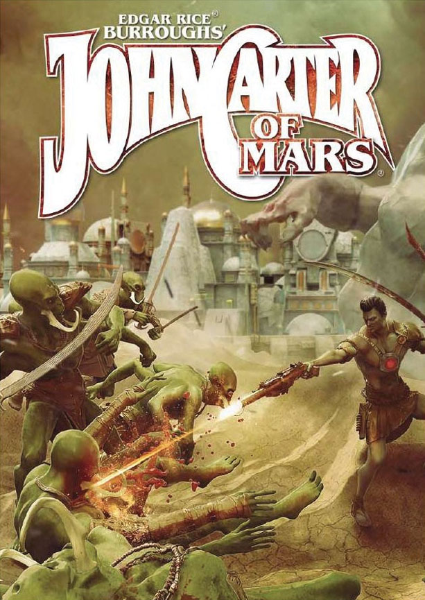 John Carter Of Mars: Adventures On The Dying World Of Barsoom Game Box