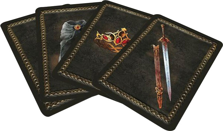 Forbidden Lands Rpg: Card Deck Game Box