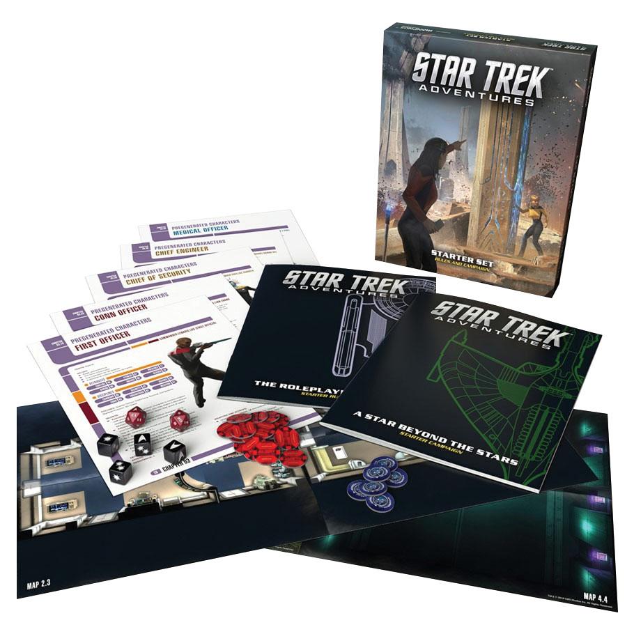 Star Trek Adventures Rpg: Starter Set Game Box