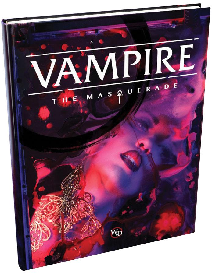 Vampire The Masquerade: 5th Edition Core Rulebook Hardcover Box Front
