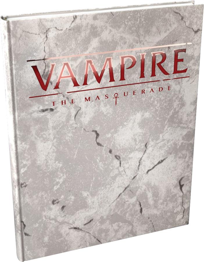 Vampire The Masquerade: 5th Edition Core Rulebook Deluxe Alternate Cover Box Front