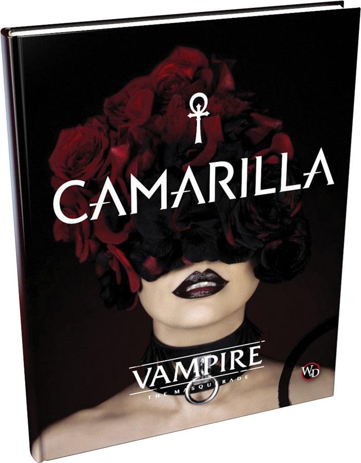 Vampire The Masquerade: Camarilla Supplement Hardcover Box Front