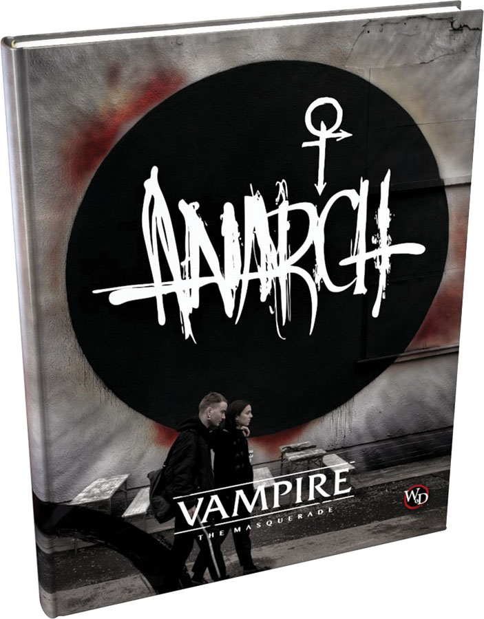 Vampire The Masquerade: Anarch Supplement Hardcover Box Front