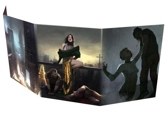 Vampire The Masquerade: 5th Edition Storyteller Screen Box Front