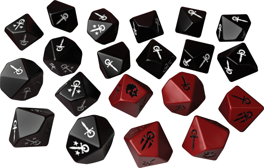 Vampire The Masquerade: Dice Set Box Front
