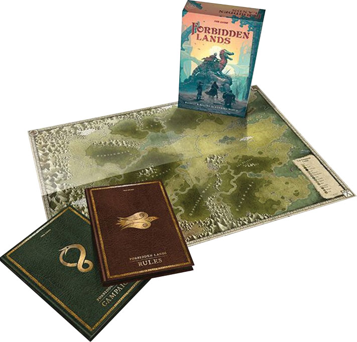 Forbidden Lands Rpg: Boxed Set Game Box