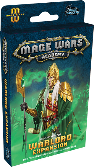 Mage Wars Academy: Warlord Expansion Box Front