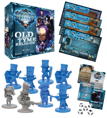 Rail Raiders Infinite: Old Tyme Religion Box Front