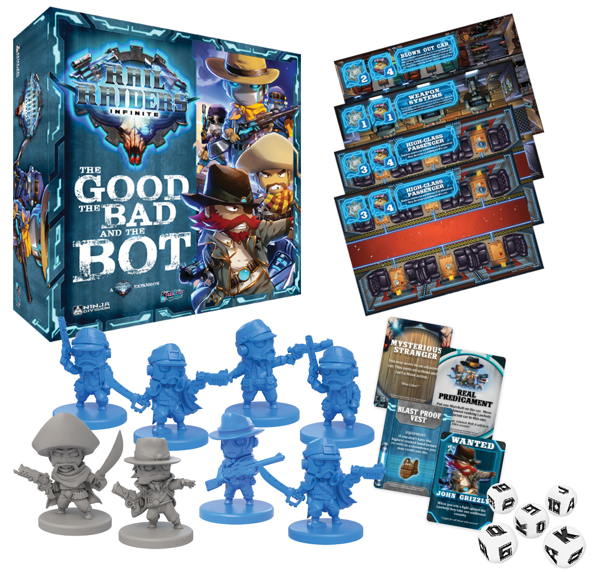 Rail Raiders Infinite: The Good, The Bad, And The Bot Box Front