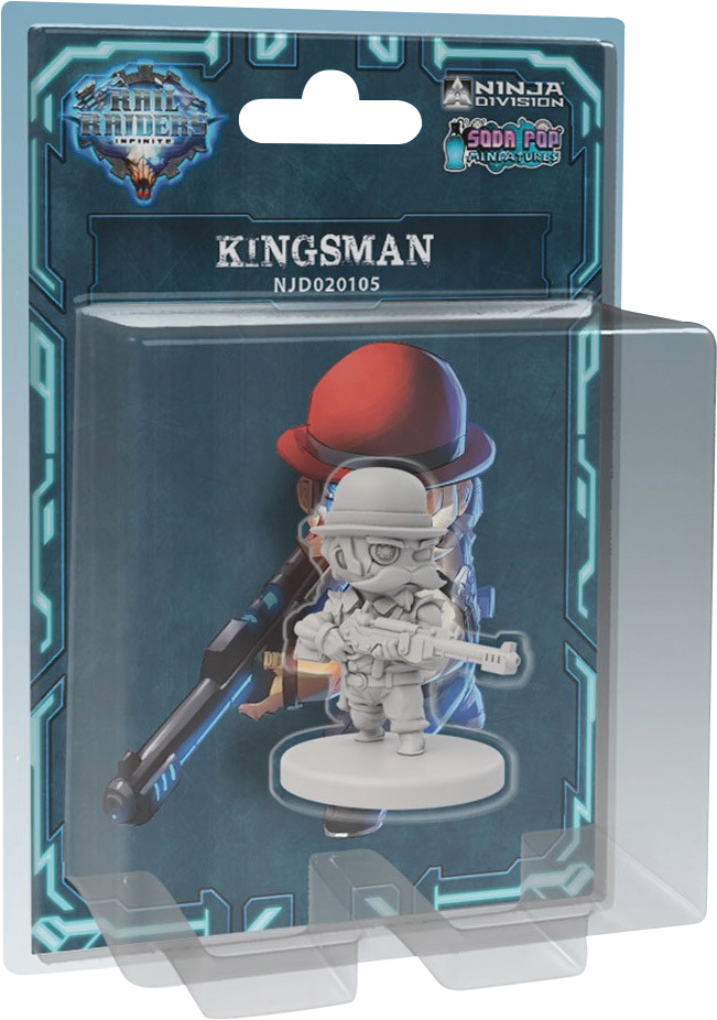 Rail Raiders Infinite: Kingsman Box Front