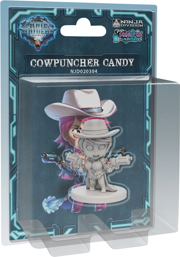 Rail Raiders Infinite: Cowpuncher Candy Box Front