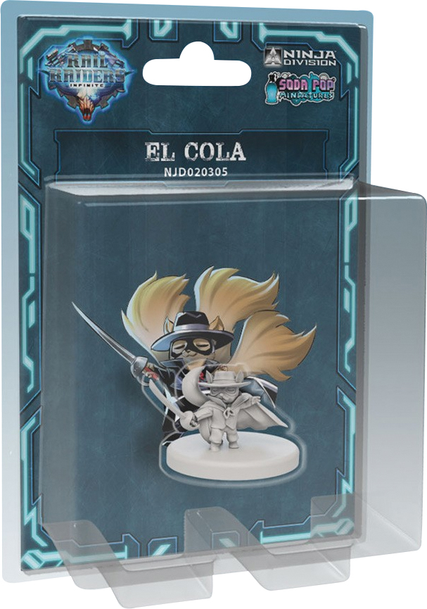 Rail Raiders Infinite: El Cola Box Front