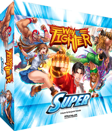 Way Of The Fighter: Super Box Front