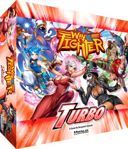 Way Of The Fighter: Turbo Box Front