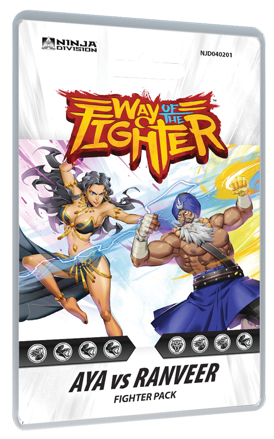 Way Of The Fighter: Fighter Deck - Aya Vs Ranveer Box Front