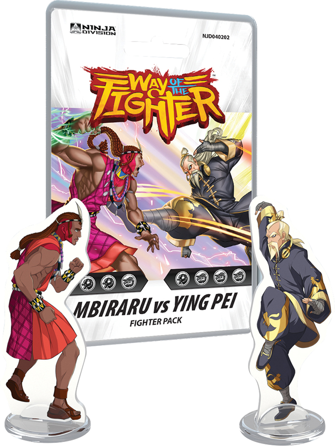 Way Of The Fighter: Fighter Deck - Mbiraru Vs Ying Pei Box Front