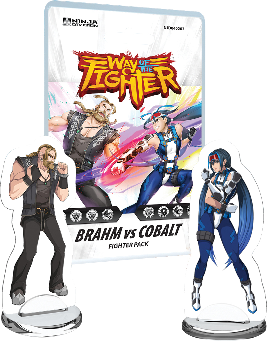 Way Of The Fighter: Fighter Deck - Brahm Vs Cobalt Box Front