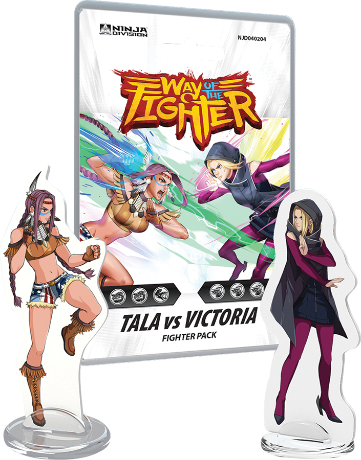 Way Of The Fighter: Fighter Deck - Tala Vs Victoria Box Front