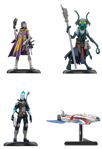 Starfinder Miniatures: Iconic Heroes Set 1 Box Front