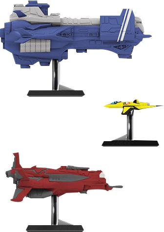 Starfinder Miniatures: Pact Worlds Fleet Set 1 Box Front