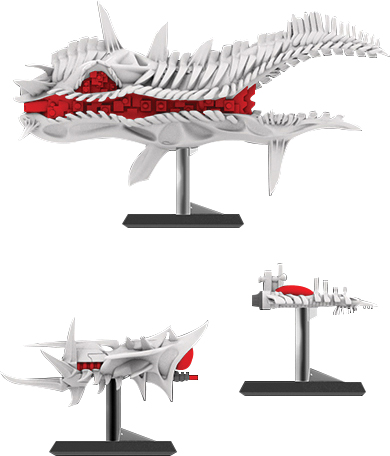Starfinder Miniatures: Corpse Fleet Set 1 Box Front