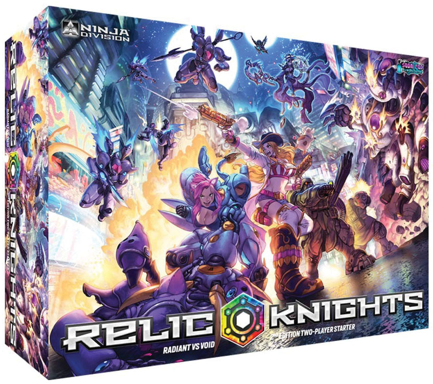 Relic Knights: 2nd Edition 2-player Starter Game Box