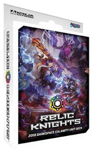Relic Knights: 2nd Edition Darkspace Unit Deck Game Box