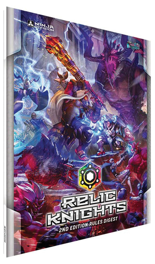 Relic Knights: 2nd Edition Digest Rulebook Game Box