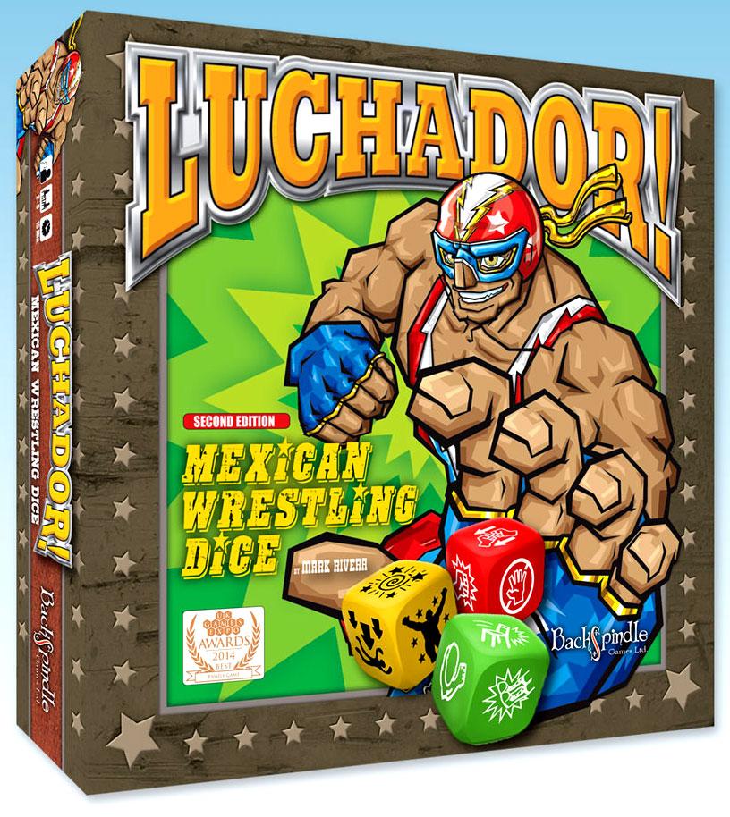Luchador! Box Front