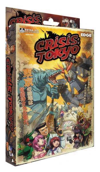 Crisis Tokyo Box Front
