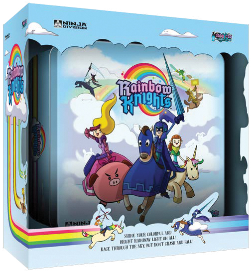 Rainbow Knights Box Front