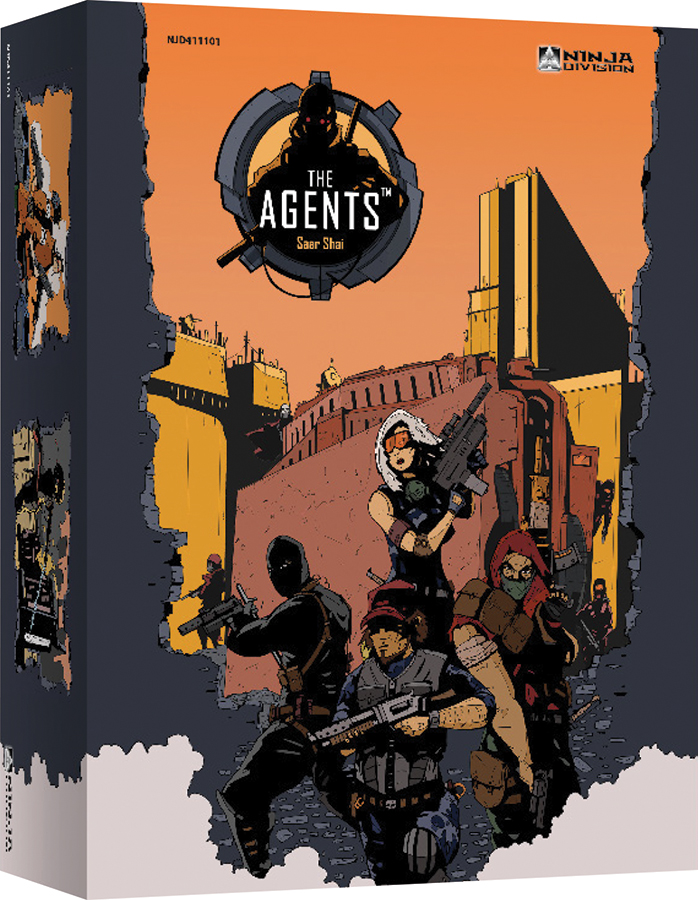 The Agents Box Front