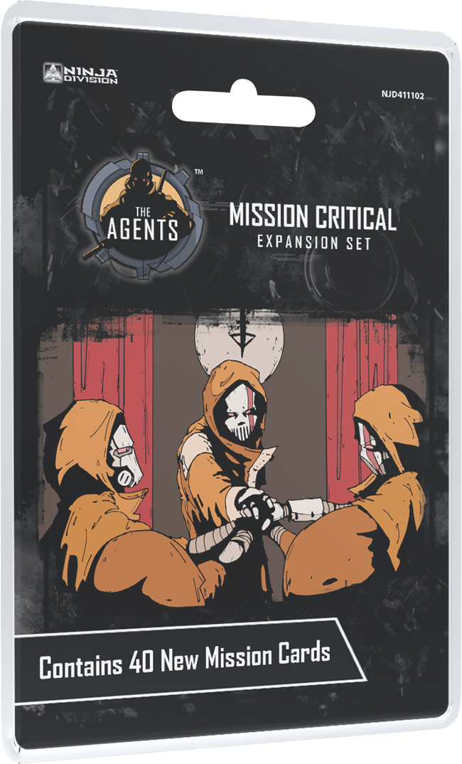 The Agents: Mission Critical Box Front