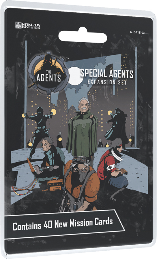 The Agents: Special Agents Box Front