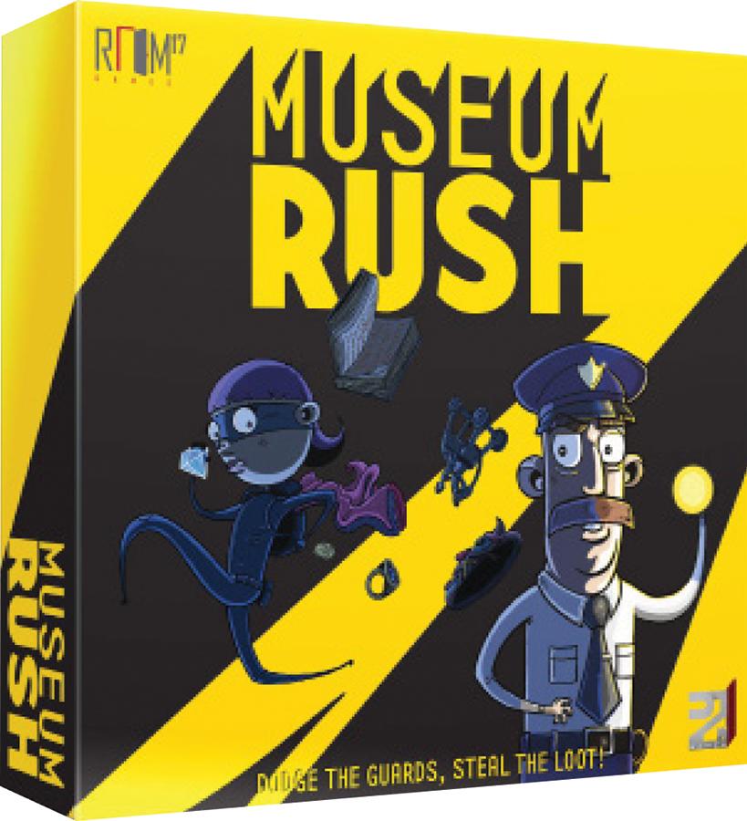 Museum Rush Box Front