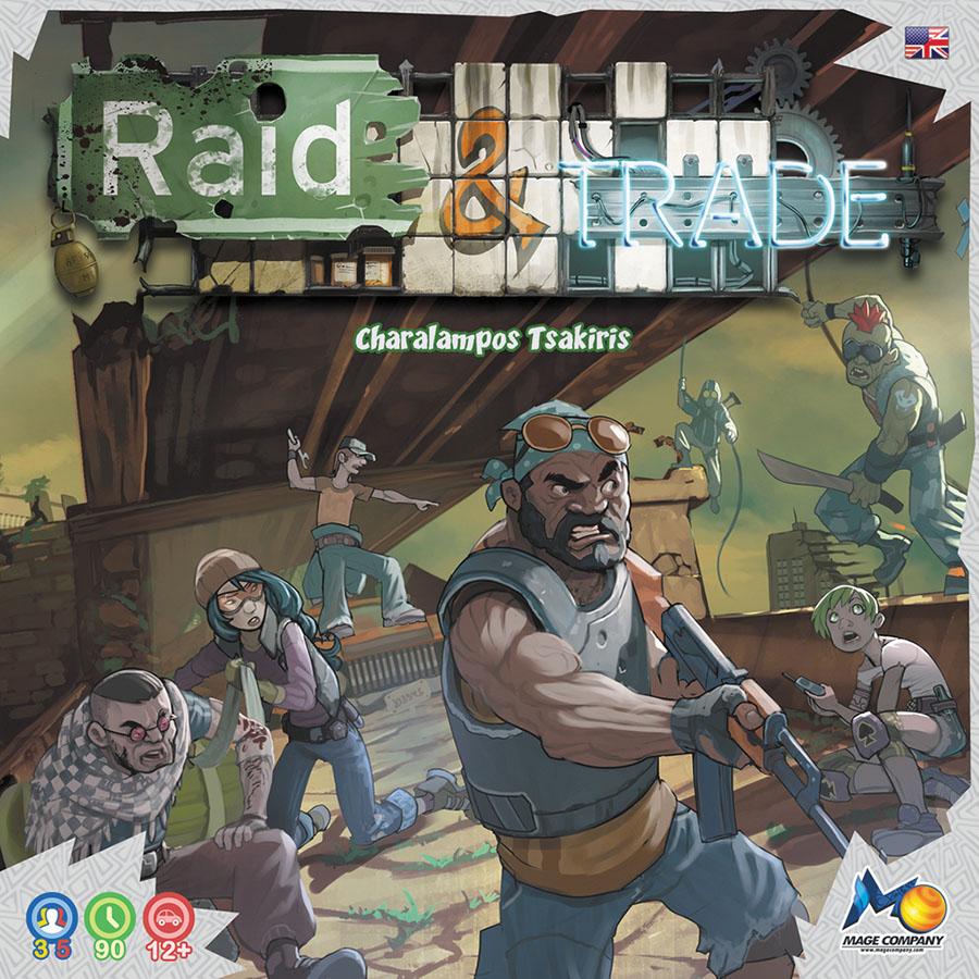 Raid & Trade Box Front