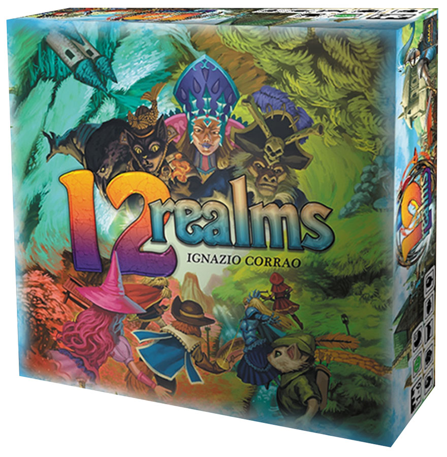 12 Realms Box Front